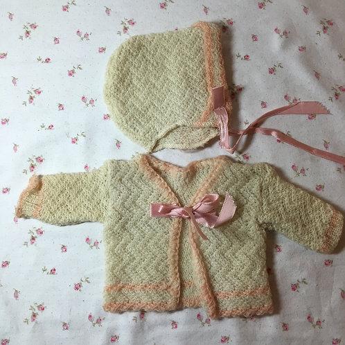 "Vintage Original Factory Effanbee 15"" Dy-Dee Doll Sweater Set"
