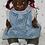 Thumbnail: RARE Circa 1927 Effanbee Black African American GrumpyKins Baby Doll
