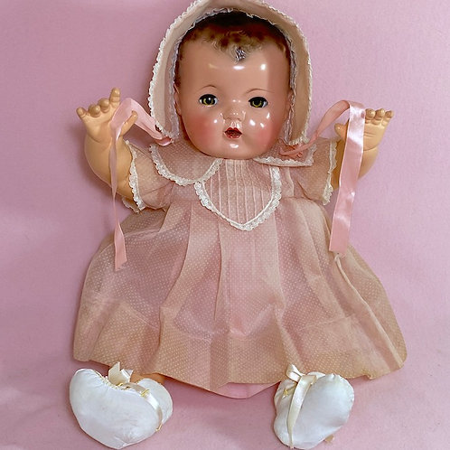 "All Original Effanbee 1930s Dy-Dee Lou 20"" Doll"