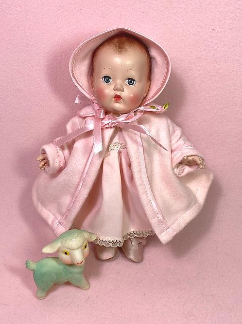 """Very RARE 1949 Effanbee Patsy Doll 10"""" - Babykin"""