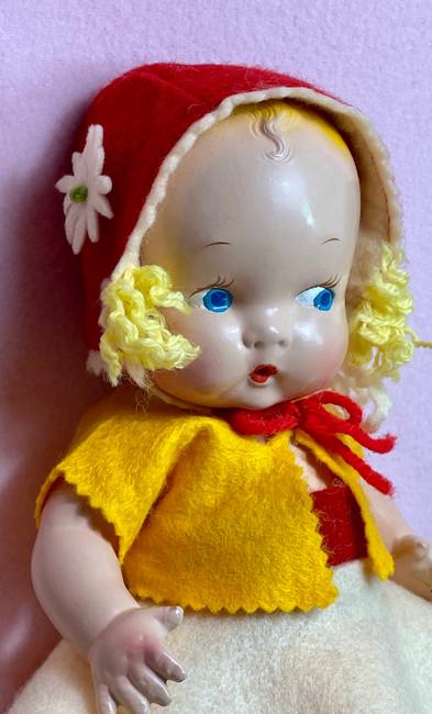 "Harriet Flanders 1937 Compo 12"" LITTLE CHERUB Baby"