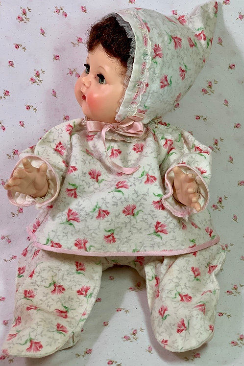 "Darling Vintage Pajamas for 15"" to 17"" Tiny Tears / Betsy Wetsy / Dy-Dee Dolls"
