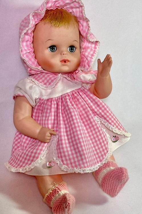 Original 1960s American Character Tiny Tears Waves Bye-Bye