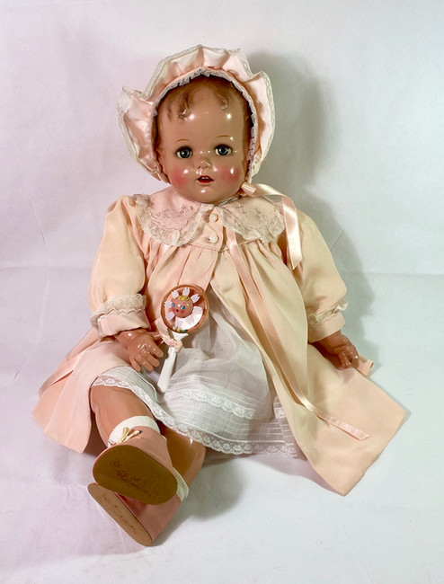 """27"""" Vintage Largest 1947 Ideal Baby Beautiful Doll"""