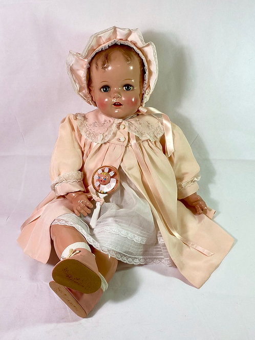 "27"" Vintage Largest 1947 Ideal Baby Beautiful Doll"