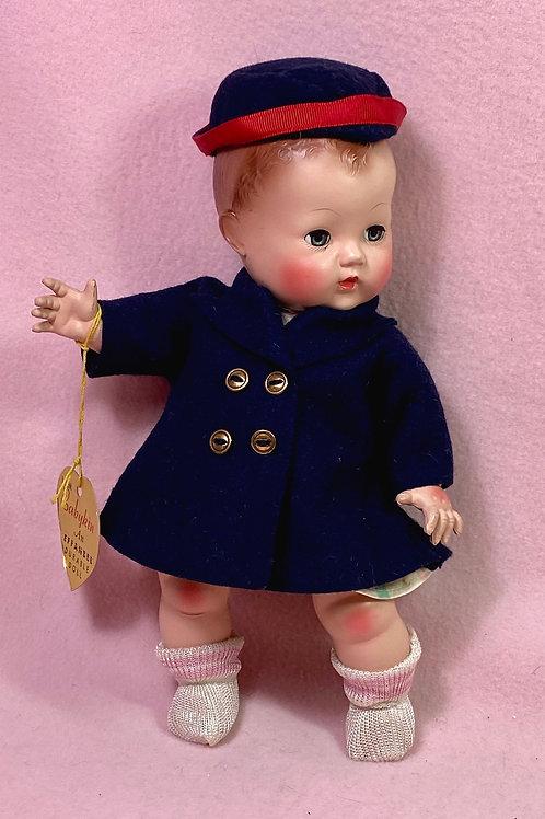 """Very RARE 1949 Effanbee Patsy Doll 10"""" - Babykin #2"""