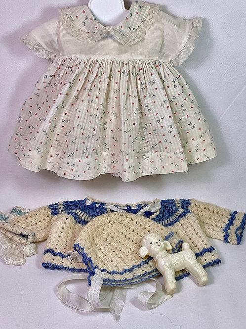 "Original Effanbee 15"" Dy-Dee Dress and Sweater Set"