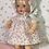 "Thumbnail: 11.5"" Tiny Tears / Dy-Dee Early 1950's Dress Set -- Cherries"