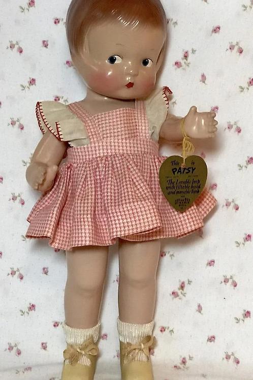 "1930's Effanbee Pat. Pend. 14"" PATSY Doll -- All Original"