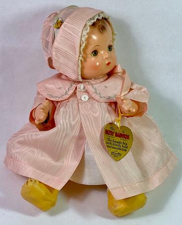 "Vintage RARE 1930's Effanbee 10"" All Original Mint Patsy BABYKIN"