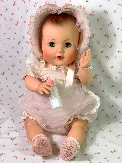 """1950's American Character Doll Co. 21"""" TOODLES the ACTION BABY"""