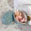 Thumbnail: Rare * Tiny EASTER Egg PINK Bunny Baby DOLL for Effanbee Dy-Dee