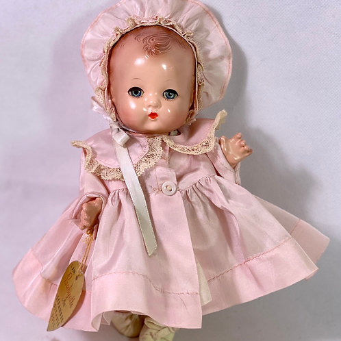 """1940s Effanbee 8"""" All Composition Patsy Babyette Doll"""