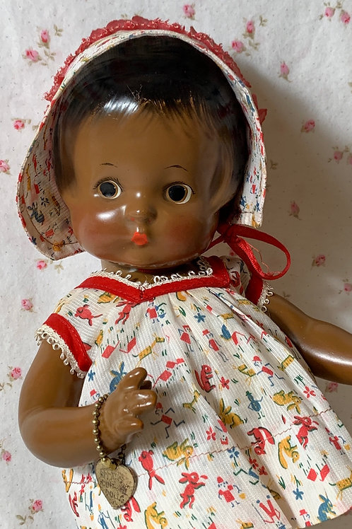 RARE Pre-Patent 1930s Effanbee Patsy African American Doll