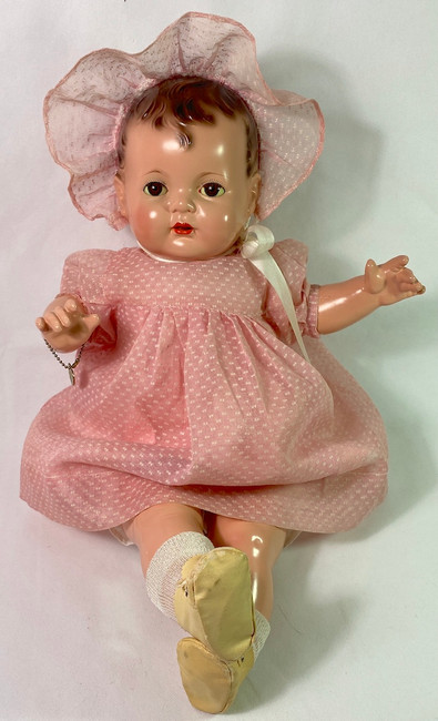 """Vintage 1930s Effanbee EARLY SUGAR BABY 20"""" Composition Doll"""