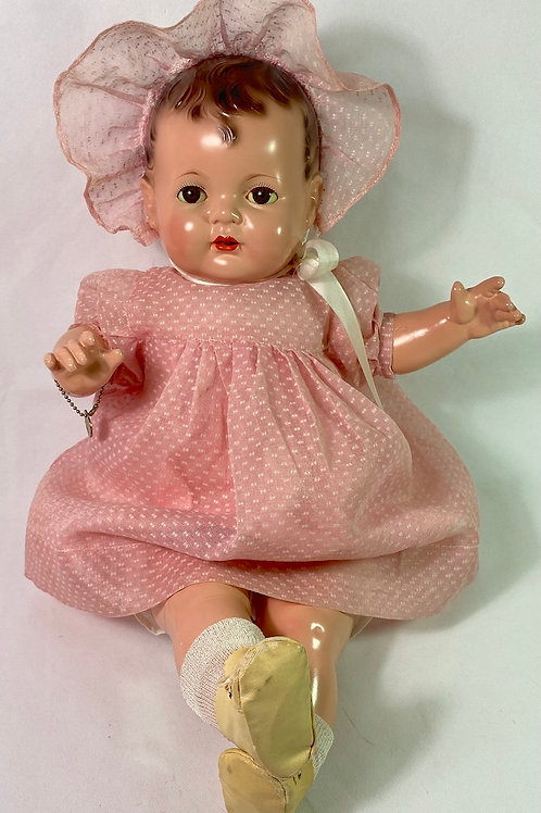 "Vintage 1930s Effanbee EARLY SUGAR BABY 20"" Composition Doll"