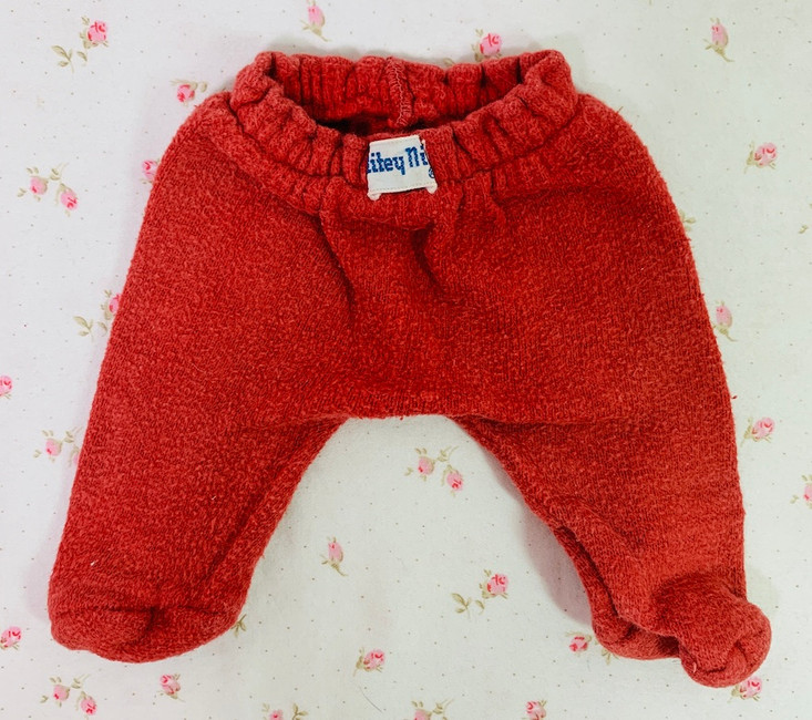 """Vintage Red NITEY NITE Pajamas for 11"""" to 12"""" Tiny Tears and Friends"""