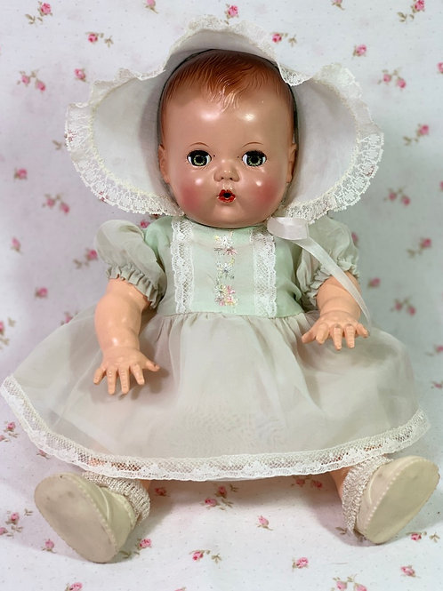 "1950s Tiny Tears Party Dress Set for your 11"" to 12"" Baby Doll"