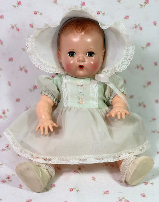 """1950s Tiny Tears Party Dress Set for your 11"""" to 12"""" Baby Doll"""