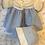 "Thumbnail: Vintage 1930's Effanbee Factory Original 15"" Dy-Dee Blue Gingham Dress Set"