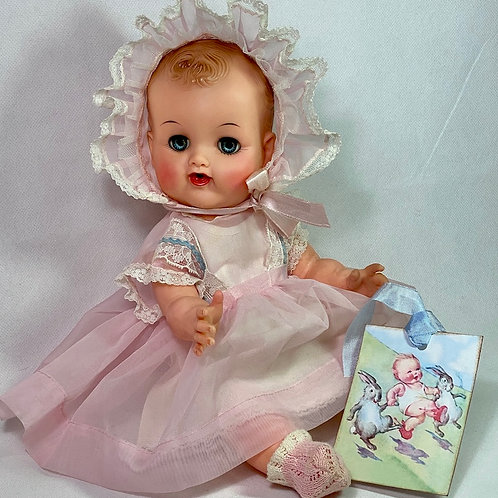 """Mid- 1950's Ideal Toy Co 14"""" BETSY WETSY Doll -- All Original"""