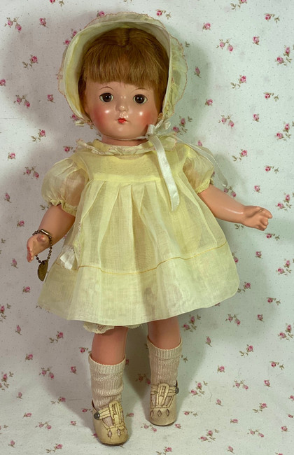 "1930s Effanbee 13"" Patricia Patsy Family Composition Doll"