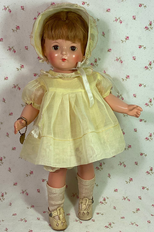 "1930s Effanbee 13"" Patricia Patsy Family Composition Doll"