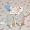 """Thumbnail: MINT * 1950's Satin and Lace PARTY SHOES for 20"""" Tiny Tears Baby"""