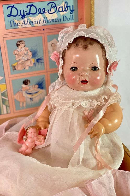 1934 Mold 1 Effanbee Dy-Dee Doll Brunette with EVERYTHING
