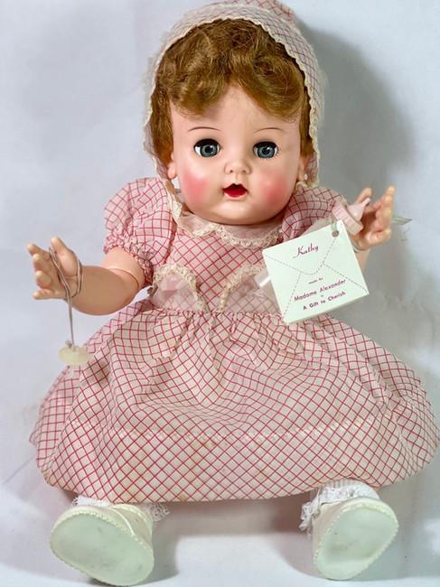 "Vintage 1950s Madame Alexander 20"" Kathy Baby Doll"