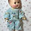 "Thumbnail: Bunny Rabbit Theme Flannel Pajamas for 11"" to 12"" Tiny Tears / Dy-Dee"