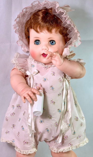 """1950s American Character 24"""" Toodles The Action Baby Redhead"""