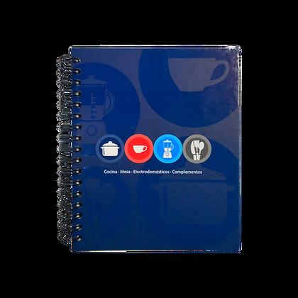Cuaderno Espiral Metalico