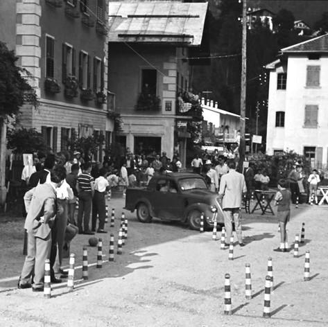 1961 Forno di Zoldo BL, gimkana.jpg