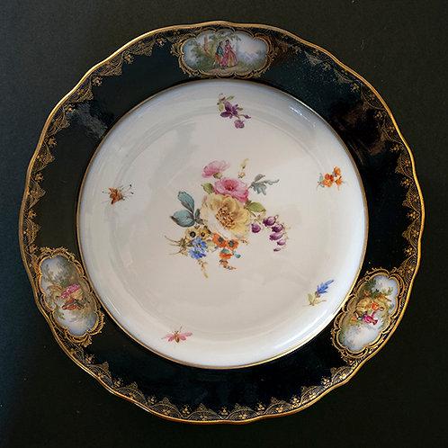 MO.18 – Piatto in porcellana, Meissen, Ø cm 25
