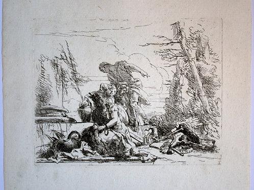 OMP.61 – TIEPOLO, Giovanni Battista (Venezia 1696-Madrid 1770)
