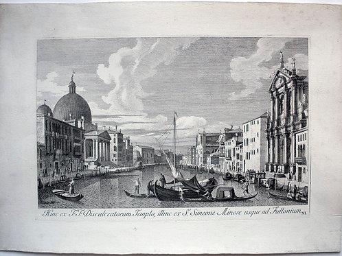 OMP.72 – VISENTINI, Antonio (Venezia 1688-1782),