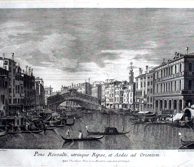 G. Brustolon, Pons Rivoalti ..., 1780 ca
