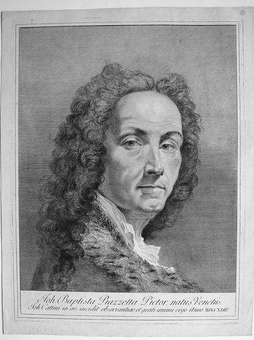 OMP.74 – CATTINI, Giovanni (Venezia 1715 ca-1804 ca)Joh. Baptista Piazzetta Pict