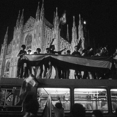 1982 Milano-Italia campione mondo calcio