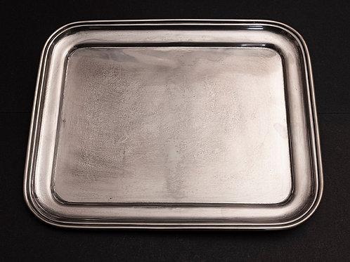 S.05 - Vassoio in argento cm 32,5 x 25,5