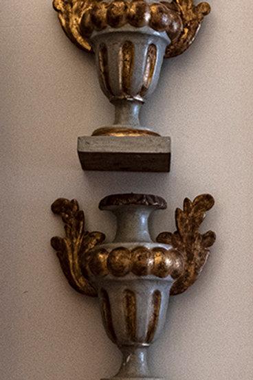 AO.04 – Capitelli alati in legno dorato