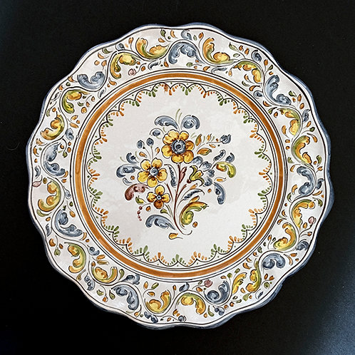 MO.21 –Piatto in ceramica, Spagna, ø cm 32
