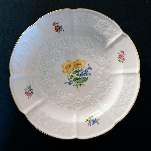 MO.11 – Piatto in porcellana, Meissen, Ø cm 20