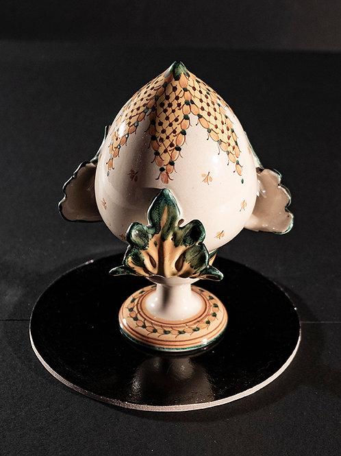 MO.05 – Pigna da balaustra in ceramica di Caltagirone