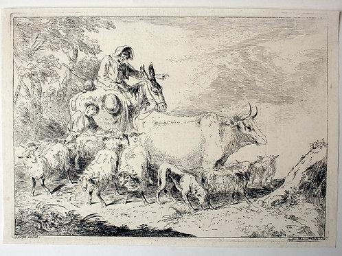 OMP.39 – ZILOTTI, Bernardo (Bassano 1716-Venezia 1783)