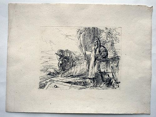 OMP.29 – TIEPOLO, Giovanni Battista (Venezia 1696-Madrid 1770),