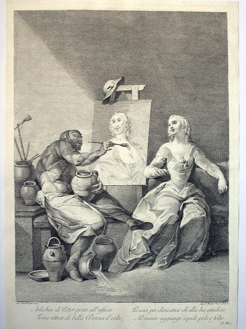 OMP.23 – BARTOLOZZI, Francesco (Firenze 1727 - Lisbona 1815)