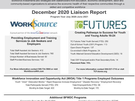 December 2020 Liaison Report