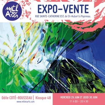 Expo sur Sainte-Catherine à MTL en arts